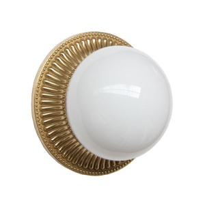 """""""Introduce a soft glow in your room with the Monart Flush Wall Light. """""""
