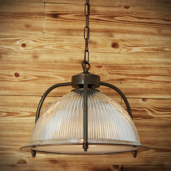 Street Light Diffuser: BOUSTA HOLOPHANE PENDANT WITH DIFFUSER
