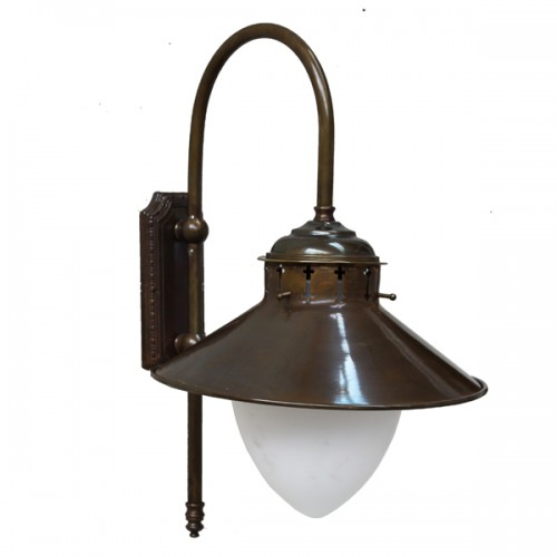 BOYD 1 ARM TRADITIONAL PUB WALL LIGHT Factory Style Wall Light by Irish Pub Lighting