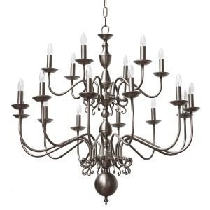 Manufactured In Ireland This Quality Brass Large Flemish Chandelier Would Look Great Any