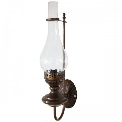 Oil single arm oil lamp wall light pub wall light by irish pub oil single arm oil lamp wall light aloadofball Image collections