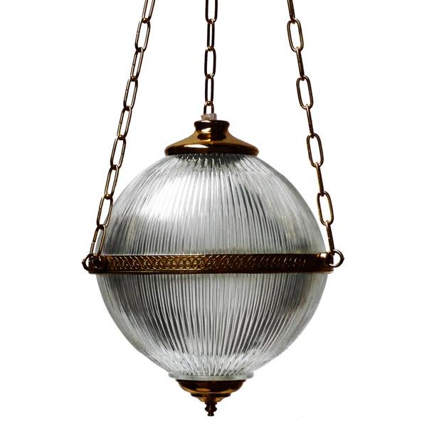 Blaenau Victorian Holophane Pendant Image