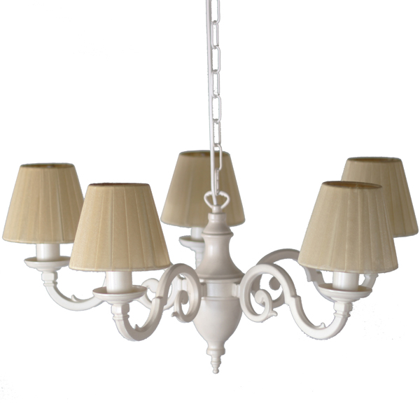Cream Bedroom Light Fitting Chandelier Image