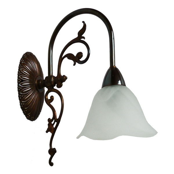 Emy 1 Arm Victorian Decorative Wall Light Image