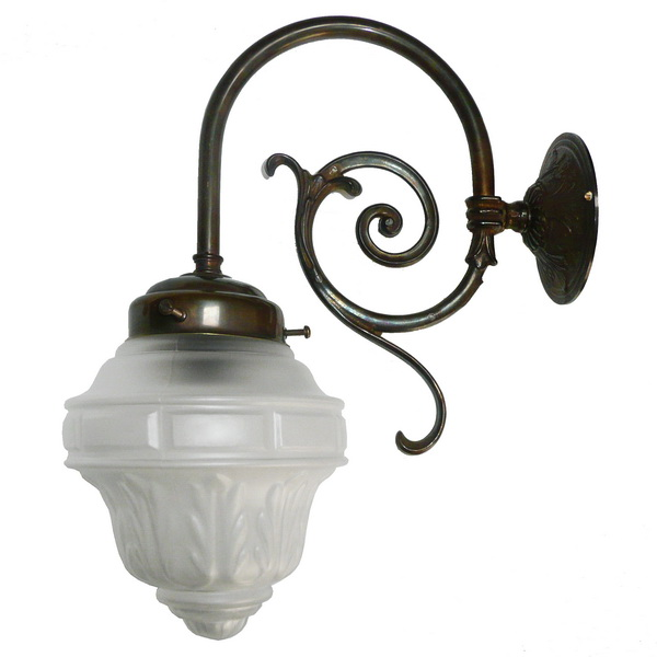 Girdle Single Arm Victorian Wall Light Image