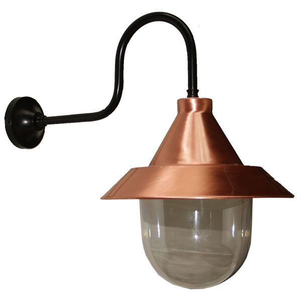 Koper Copper & Black Spun Wall Light Image