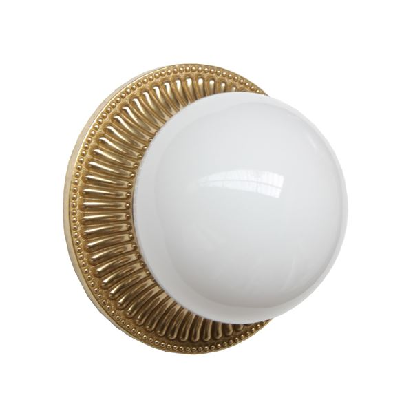 """Introduce a soft glow in your room with the Monart Flush Wall Light. """