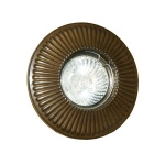 """The Penh Recessed Decorative Brass Spot Light is sleek and discreet to align perfectly with your ceiling."""