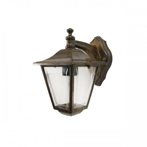 """Albon Brass Exterior Wall Light would suit any modern or traditional setting."""