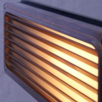 """The Agher Recessed Grill Wall Light is suitable for ceilings and walls both in residential and commercial interiors."""