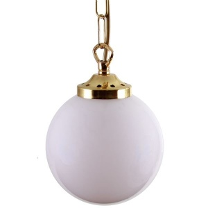 """""""With a refreshing design, the Yerevan Globe Pendant Light 140mm will update your contemporary or modern décor."""""""