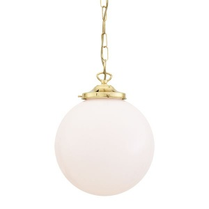 """""""With a refreshing design, the Yerevan Globe Pendant Light 25 cm will update your contemporary or modern décor."""""""