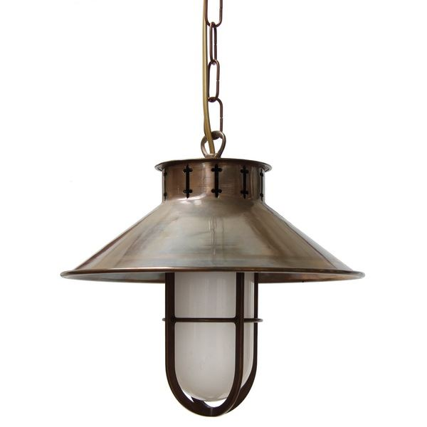 """See your home in a better light and add a classic touch to any space with the Brady Fisherman Pendant."""