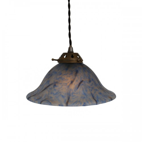 """Manufactured in Ireland this classic Flared Bowl Pendant fitting perfectly diffuses light to give an even warm glow."""